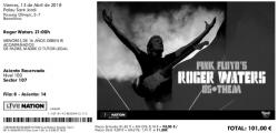 Roger Waters - Barcelona, Spain 2018 ticket