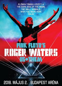 Roger Waters - Budapest, Hungary 2018 poster