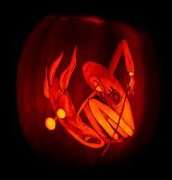 2018 Pink Floyd pumpkin design