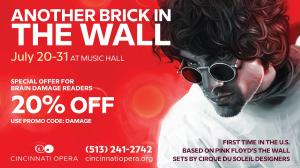 Another Brick In The Wall - The Opera; special Brain Damage discount offer