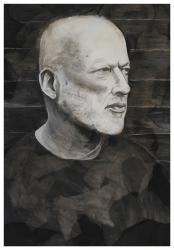 David Gilmour by Kevan Porter