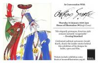 Gerald Scarfe: Stage & Screen - talk at House of Illustration London
