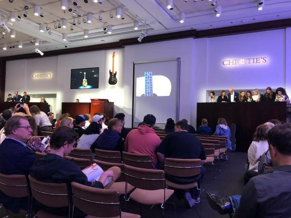 Christie's auction room
