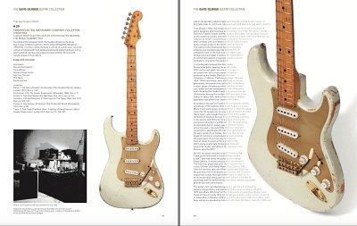 David Gilmour Guitar Collection - auction catalogue example