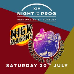 Nick Mason's Saucerful Of Secrets - Night Of The Prog Festival, Loreley, Germany