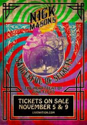 Nick Mason's Saucerful Of Secrets 2019 North American tour - poster