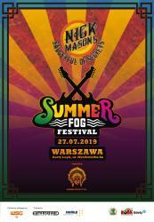 Nick Mason's Saucerful Of Secrets at Summer Fog Festival, July 2019