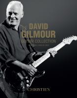 David Gilmour - Guitar Auction, 20th June 2019, Christies New York City