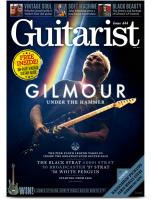 Guitarist issue 444 - David Gilmour guitar auction special magazine