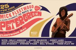 Mick Fleetwood & Friends celebrate the music of Peter Green - London Palladium, 25 February 2020
