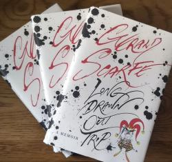 Gerald Scarfe - Long Drawn Out Trip book