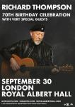 Richard Thompson - 70th birthday celebration concert, Royal Albert Hall, 30 September 2019