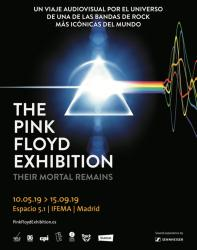The Pink Floyd Exhibition: Their Mortal Remains - Madrid, Spain, 2019