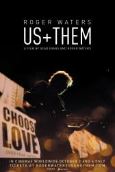 Roger Waters Us + Them - cinema poster