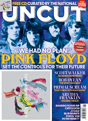 Uncut Magazine issue 265 with Pink Floyd on cover