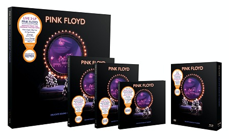Pink Floyd - Delicate Sound of Thunder Blu-ray, DVD, 2CD, 3LP and deluxe 4-disc box