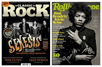 Classic Rock and Rolling Stone Magazines - German editions, September 2020