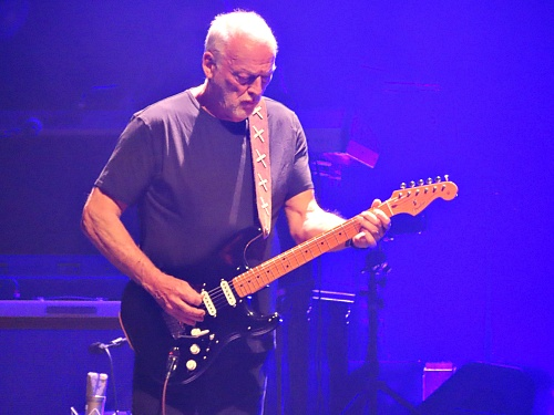 David Gilmour at Mick Fleetwood and Friends concert, February 25th 2020