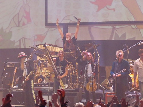 Mick Fleetwood and Friends concert, February 25th 2020