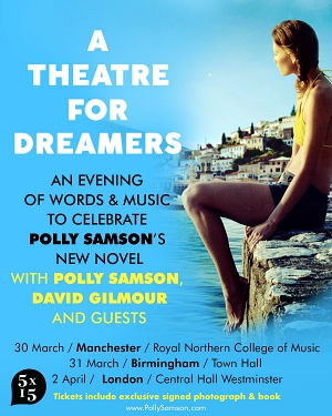 Polly Samson and David Gilmour - A Theatre For Dreamers event