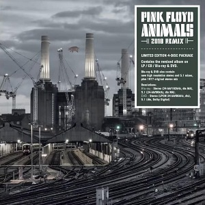 Pink Floyd Animals 2021 release - limited 4-disc package with remixed album on LP/CD/Blu-ray and DVD