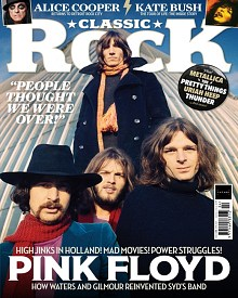 Classic Rock Magazine with Pink Floyd feature, April 2021 - front cover