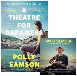 Polly Samson's A Theatre For Dreamers book with exclusive four track bonus CD with music by David Gilmour and Romany Gilmour