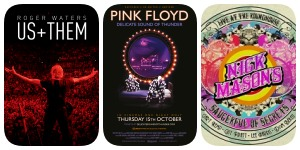 Roger Waters Us + Them, Pink Floyd Delicate Sound of Thunder, Nick Mason's Saucerful Of Secrets Live At The Roundhouse