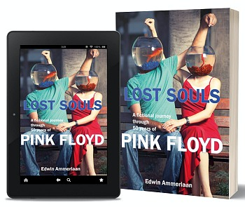 Lost Souls: A Fictional Journey Through 50 Years of Pink Floyd book by Edwin Ammerlaan