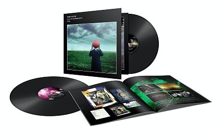Pink Floyd Live At Knebworth 1990 2LP vinyl pack shot