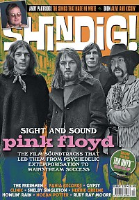 Shindig issue 120 with Pink Floyd feature