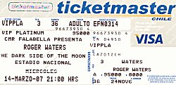 chile ticket