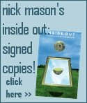 Nick Mason Inside Out signed copy