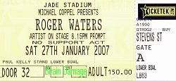Roger Waters ticket