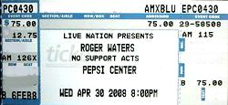 pepsi center ticket