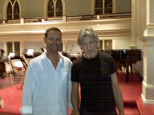 roger waters at bridgehampton