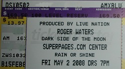 roger waters dallas ticket