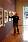 Peter Curzon at Artisan Gallery for Taken By Storm talk