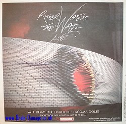 Roger Waters 2010 Wall Tour advertisment