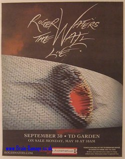 Roger Waters 2010 tour advertisment