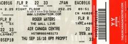 Toronto, 16th September 2010