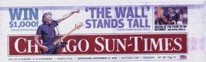Chicago Sun-Times front page, 22nd September 2010