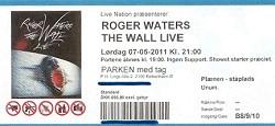 Roger Waters - Parken 2011 ticket