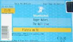 Roger Waters Wall Live ticket - Lisbon