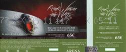 Roger Waters - Athens, 2011 ticket scan