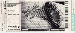 Roger Waters The Wall Live Barcelona Spain 2011 ticket