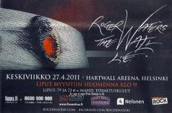 Roger Waters - Helsinki, April 2011
