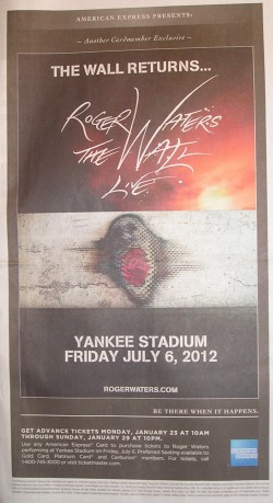Roger Waters - The Wall at Yankee Stadium