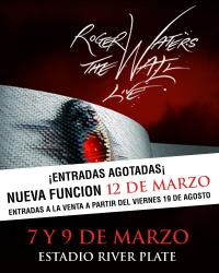 March 12th Roger Waters - The Wall Live in Buenos Aires