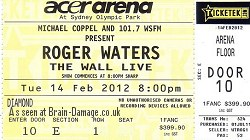 Roger Waters Wall Live in Australia